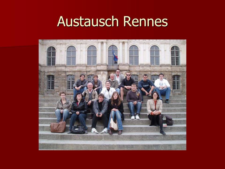 Austausch Rennes
