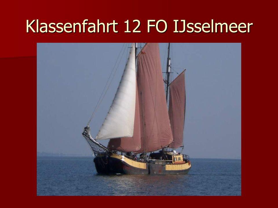 Klassenfahrt 12 FO IJsselmeer