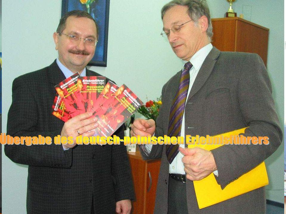 35 Eröffnungsmeeting Komponente IV 30.9.-1.10.2004 Zusammenarbeit FFO-Slubice