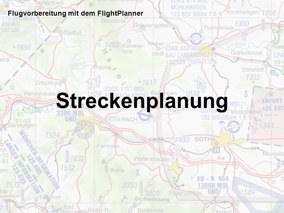 Flugvorbereitung mit dem FlightPlanner Nach § 58 Abs. 1 Nr. 10 LuftVG handelt ordnungswidrig, wer vor- sätzlich oder fahrlässig gegen eine, nach § 32