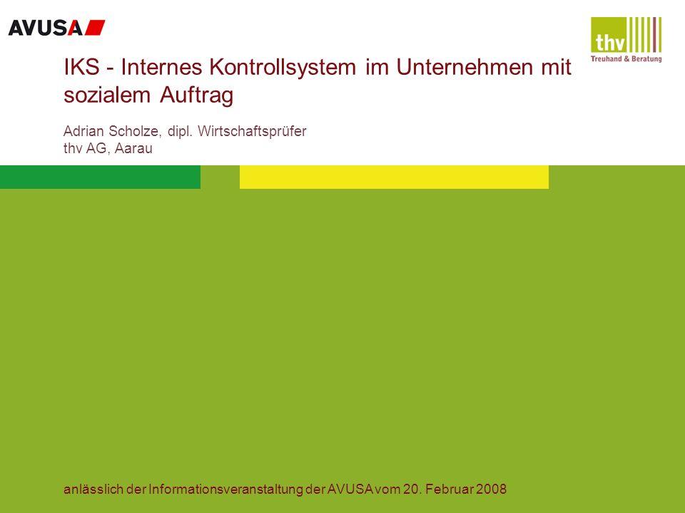 2 Agenda Einleitung Einführung eines Internen Kontrollsystems Schlussbemerkungen