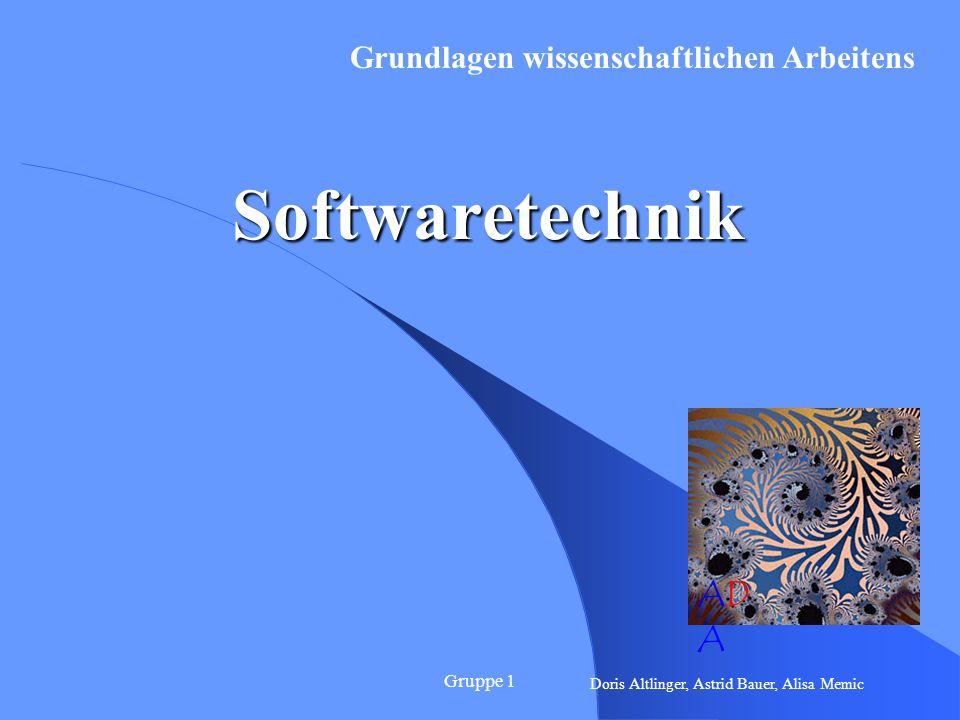 Gruppe 12 Wozu Softwaretechnik .Softwarekrise (ca.