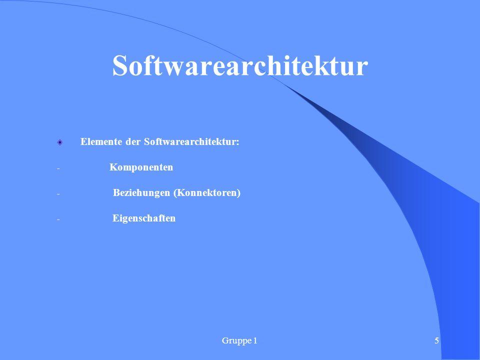 Gruppe 16 Einflussfaktoren der Softwareentwicklung Software- Produkt Termine QualitätKosten