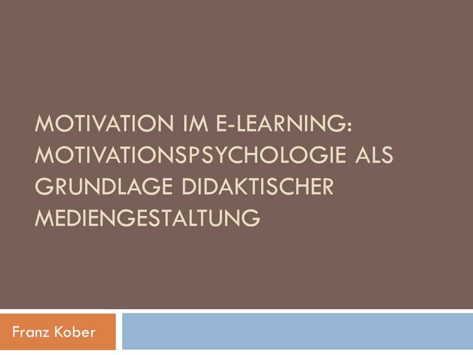E-Learning (electronic learning) Unter E-Learning werden alle Formen von Lernen verstanden, bei denen elektronische oder digitale Medien für die Präsentation und Distribution von Lernmaterialien und/oder zur Unterstützung zwischenmenschlicher Kommunikation zum Einsatz kommen.