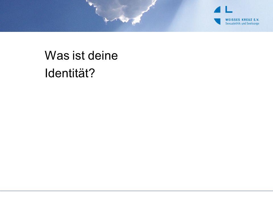 Ich bin … Deutscher … Christ … Schüler / Handwerker … Kieler … Schwester von 3 Brüdern … begeistert für… Herkunft Zugehörigkeit Glaube Interessen Aufgaben