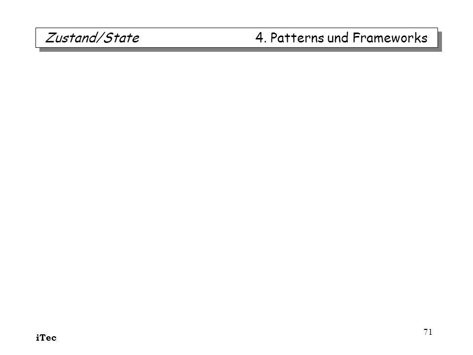 iTec 71 Zustand/State 4. Patterns und Frameworks