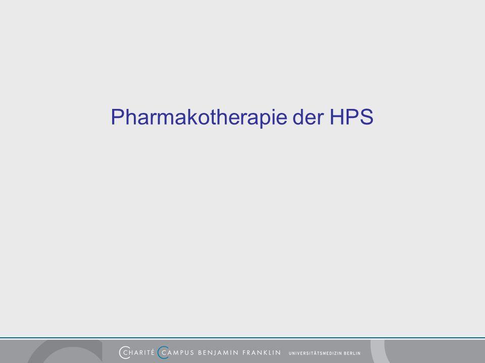 Pharmakotherapie der HPS