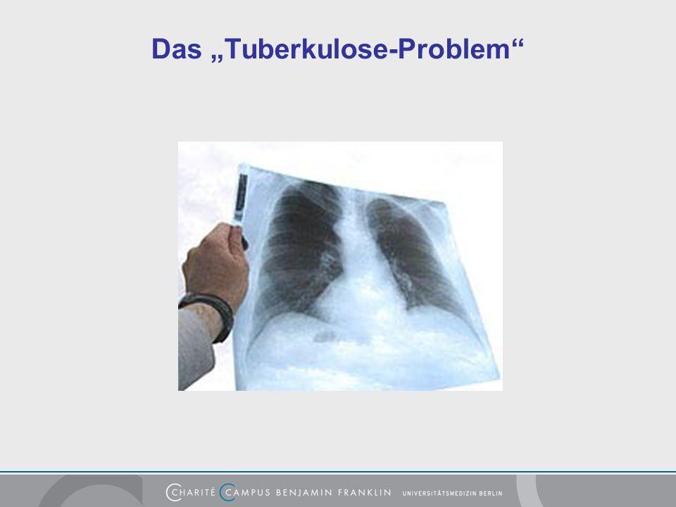 Das Tuberkulose-Problem