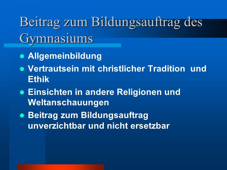 ... und doch ein Fach eigener Art Zuständigkeit der verfassten Kirchen für die Inhalte Verantwortung der Ziele durch Kirche und Schule Nicht nur Frage