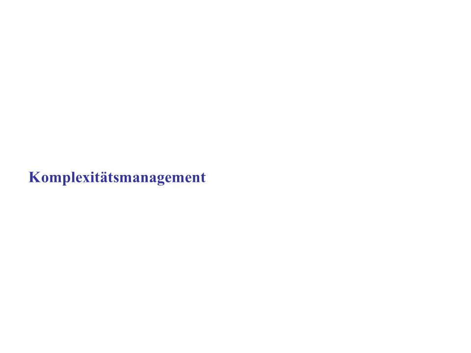 Copyright 2006 Karl Schaufelbühl 34 Spannungsfeld des Managements Strategie Kultur Prozesse Struktur