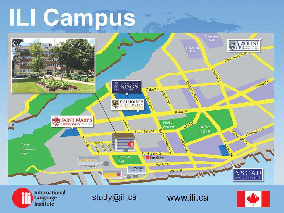 www.ili.ca study@ili.ca ILI Campus