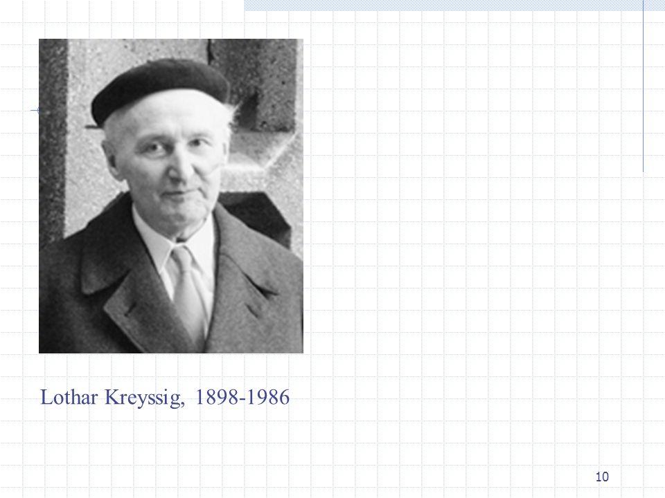 10 Lothar Kreyssig, 1898-1986