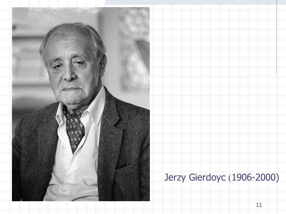 11 Jerzy Gierdoyc ( 1906-2000)