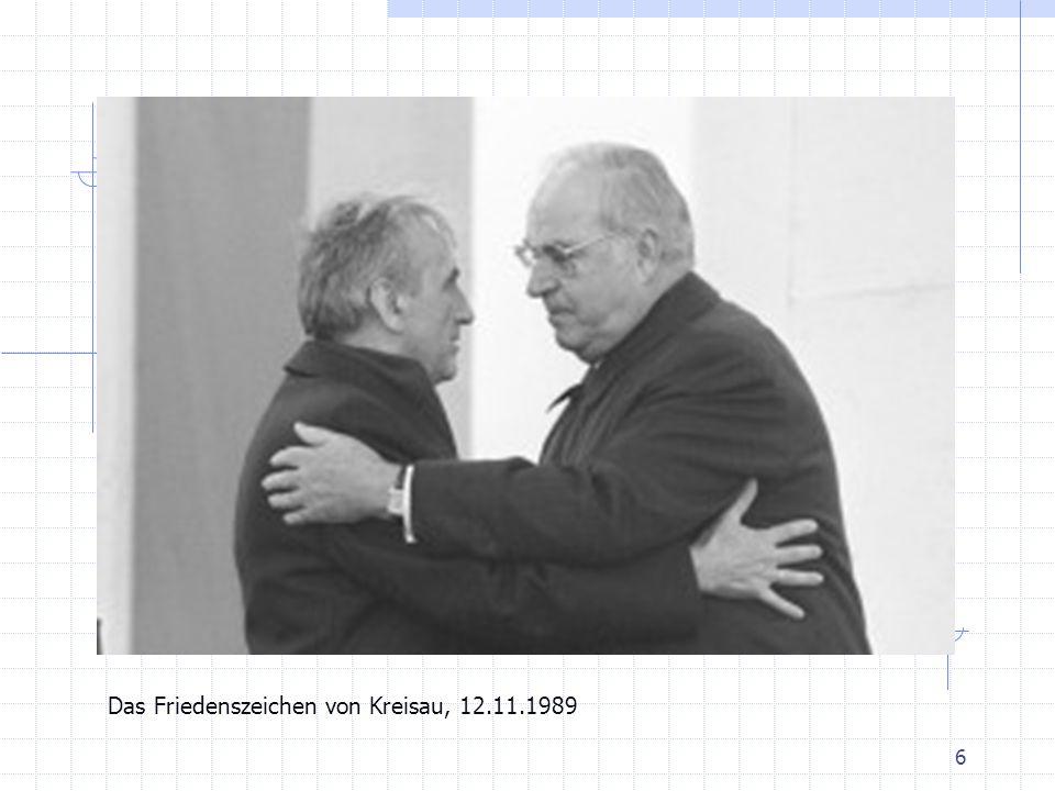 6 Das Friedenszeichen von Kreisau, 12.11.1989
