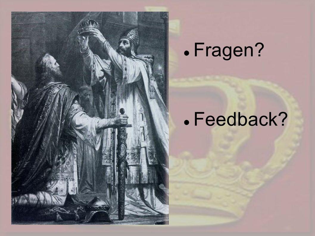 Fragen Feedback