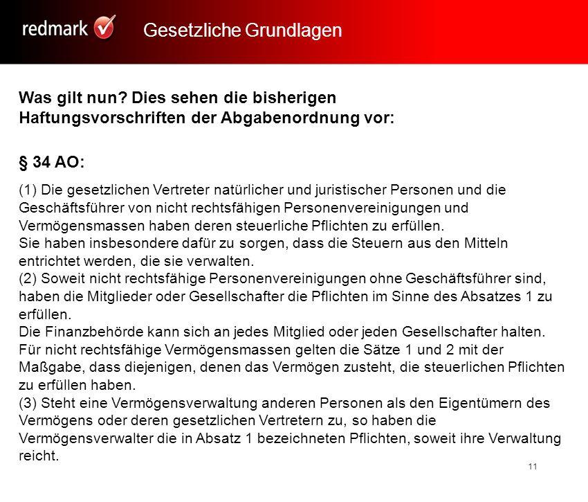 Rechtsanwalt Prof.Gerhard Geckle, Freiburg11 Was gilt nun.