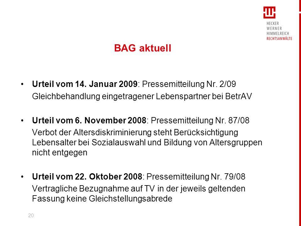 21 Arbeitsrecht und AGB Neues zu wirksamen und unwirksamen Vertragsklauseln RAin Lisa Neugebauer www.hwhlaw.de