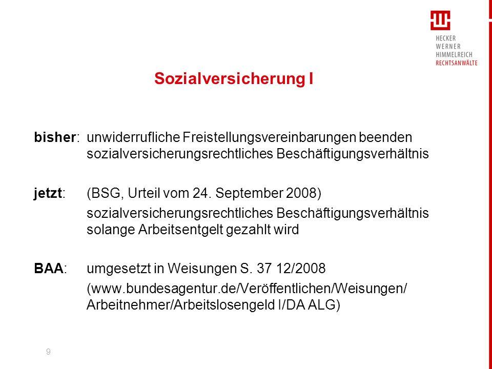 10 Sozialversicherung II BSG, Urteil vom 3.
