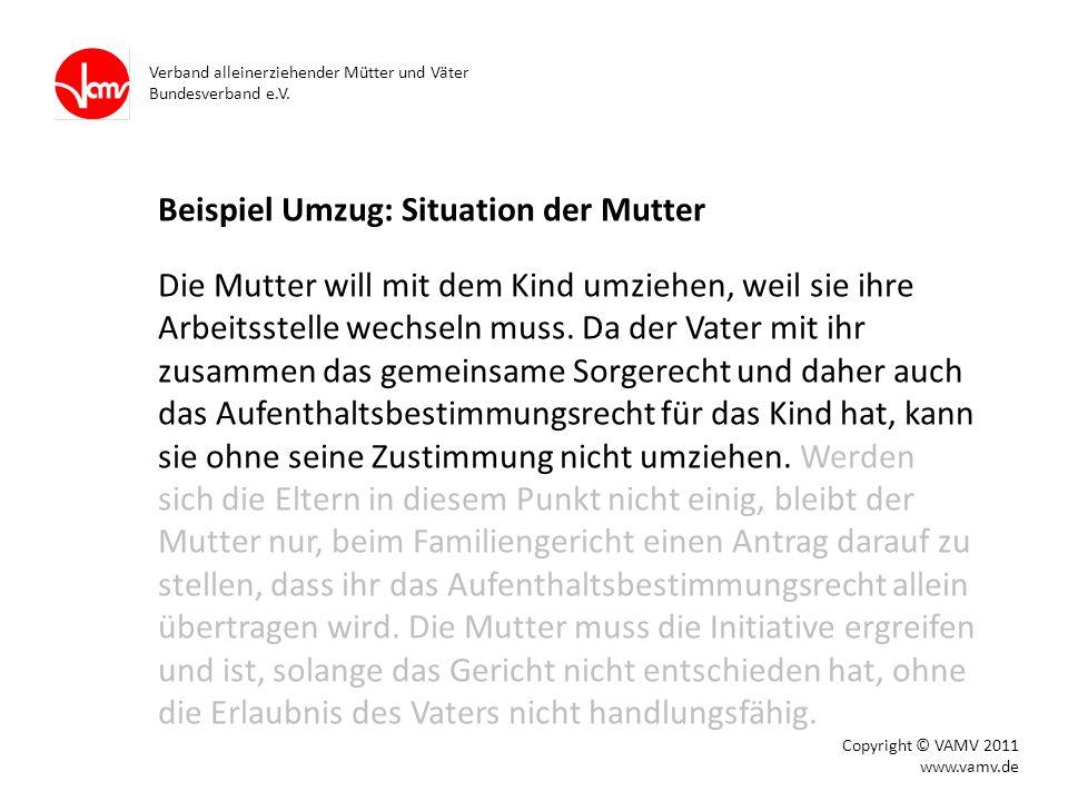 Verband alleinerziehender Mütter und Väter Bundesverband e.V.