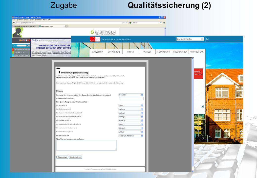 MD 47 Zugabe Qualitätssicherung (2)