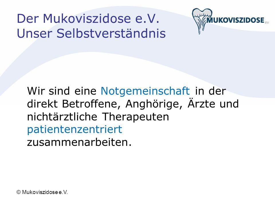 Der Mukoviszidose e.V.