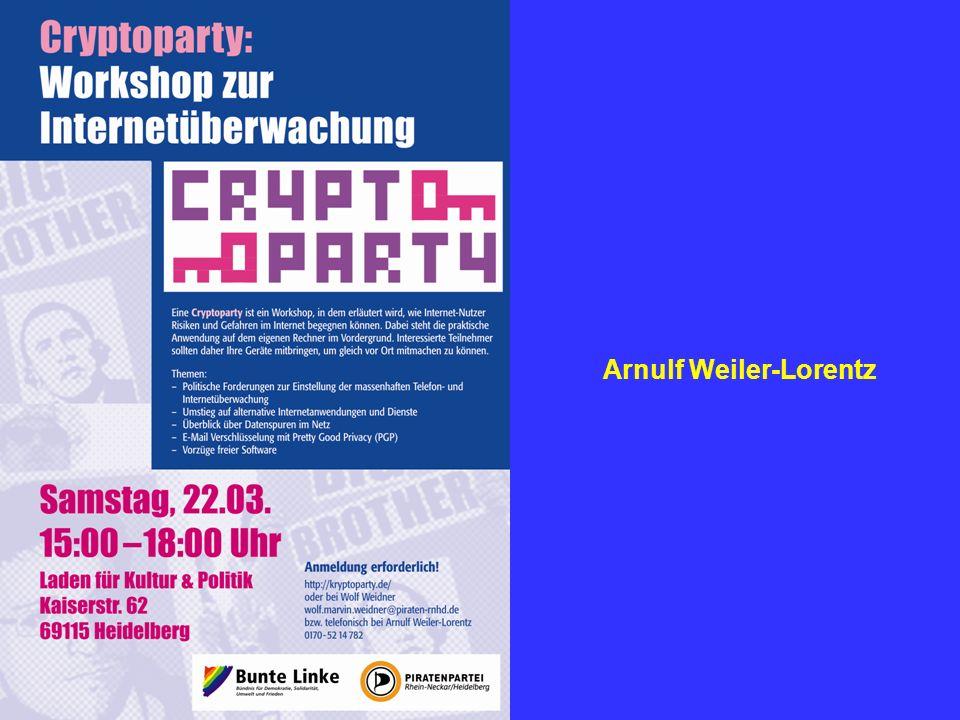 17.05.2014 Arnulf Weiler-Lorentz