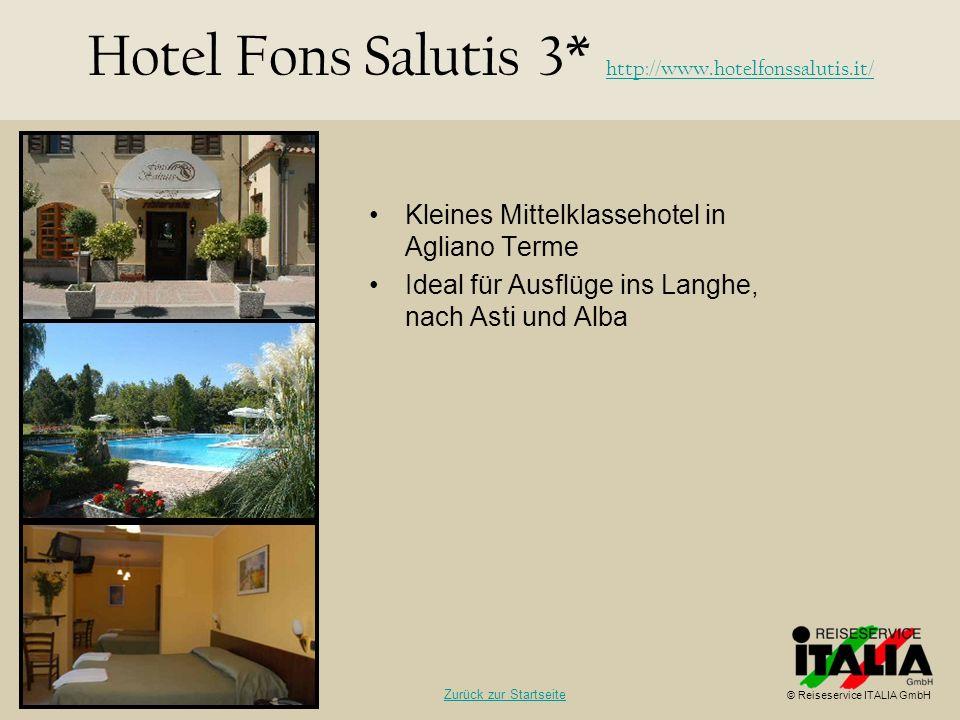 Kleines Mittelklassehotel in Agliano Terme Ideal für Ausflüge ins Langhe, nach Asti und Alba Hotel Fons Salutis 3* http://www.hotelfonssalutis.it/ htt