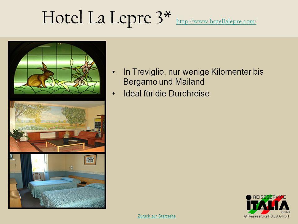 In Treviglio, nur wenige Kilomenter bis Bergamo und Mailand Ideal für die Durchreise Hotel La Lepre 3* http://www.hotellalepre.com/ http://www.hotella