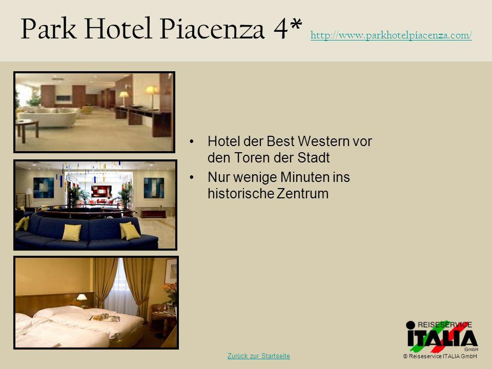 Hotel der Best Western vor den Toren der Stadt Nur wenige Minuten ins historische Zentrum Park Hotel Piacenza 4* http://www.parkhotelpiacenza.com/ htt