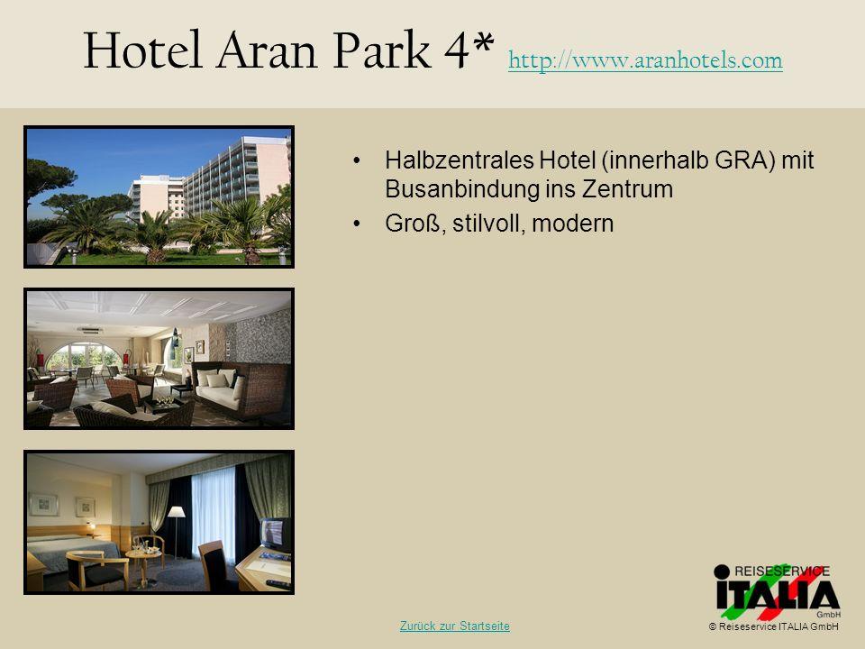 Halbzentrales Hotel (innerhalb GRA) mit Busanbindung ins Zentrum Groß, stilvoll, modern Hotel Aran Park 4* http://www.aranhotels.com http://www.aranho