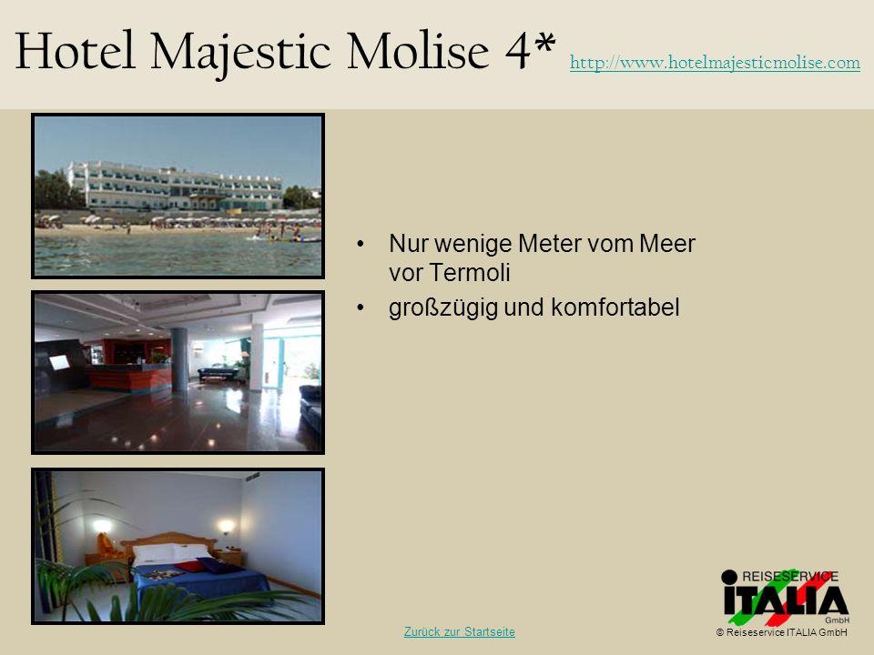Nur wenige Meter vom Meer vor Termoli großzügig und komfortabel Hotel Majestic Molise 4* http://www.hotelmajesticmolise.com http://www.hotelmajesticmo