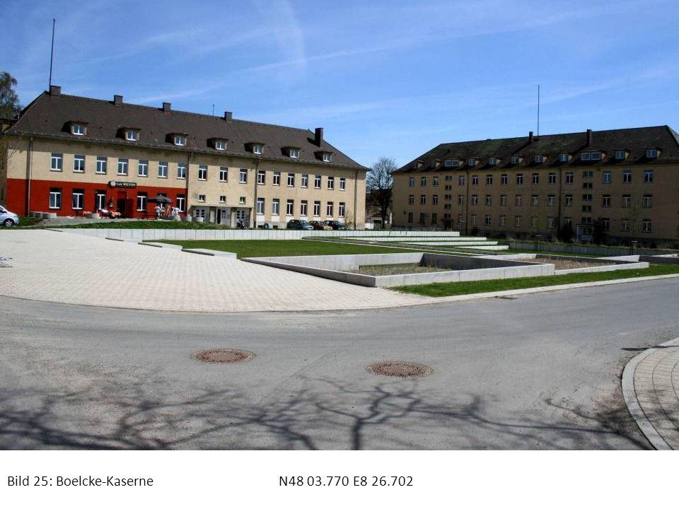 Bild 25: Boelcke-KaserneN48 03.770 E8 26.702