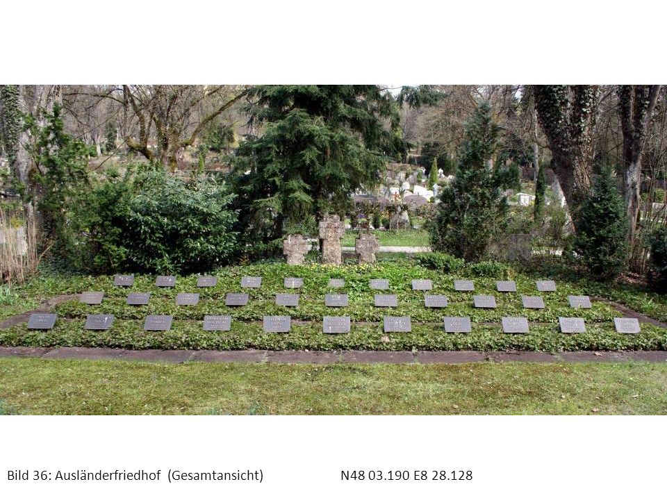 Bild 37: Ausländerfriedhof Grab SmolaN48 03.190 E8 28.128