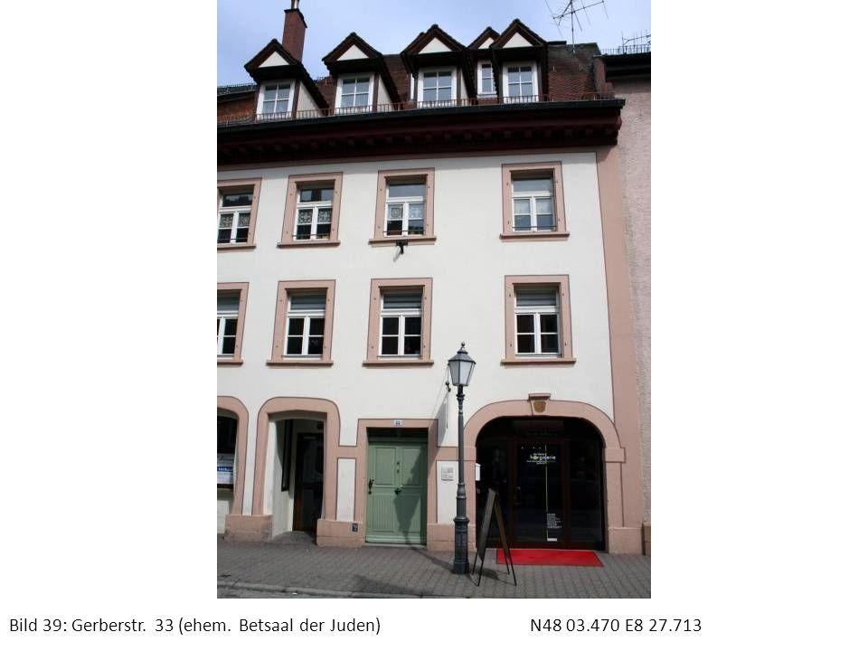 Bild 40: Gedenktafel GerberstraßeN48 03.538 E8 27.682