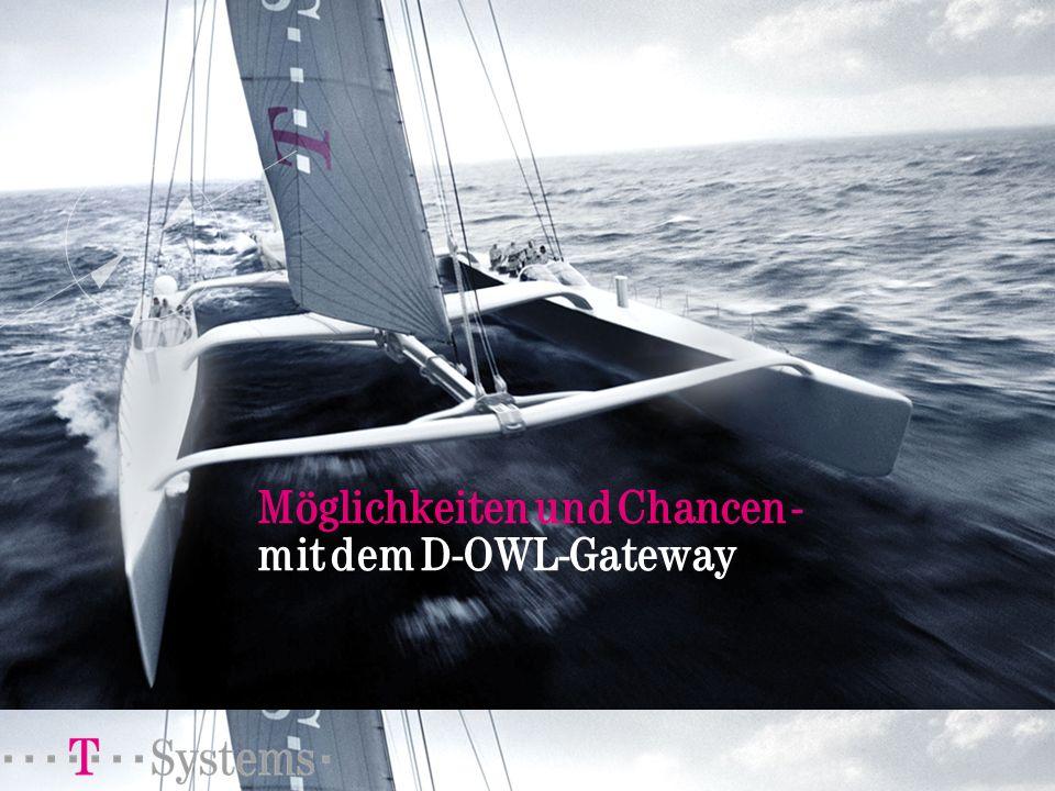 Möglichkeiten und Chancen - mit dem D-OWL-Gateway