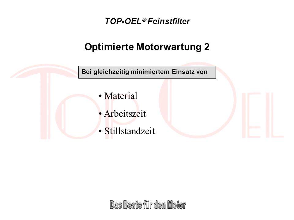 TOP-OEL Feinstfilter Radiale Durchströmung Der TOP-OEL Feinstfilter wird radial durchströmt: Längere Standzeit der Filterpatrone durch Größere Filteroberfläche Erklärung: Das TOP-OEL Filterelement wird radial (von außen nach innen) durchströmt.