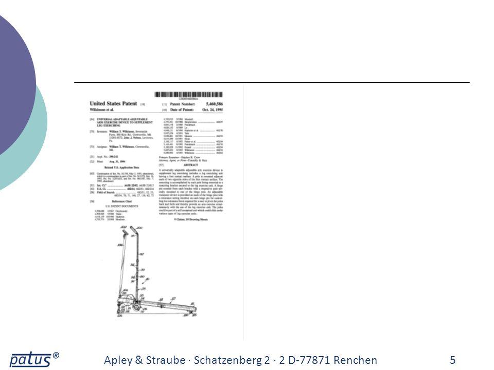 Apley & Straube · Schatzenberg 2 · 2 D-77871 Renchen6 3.