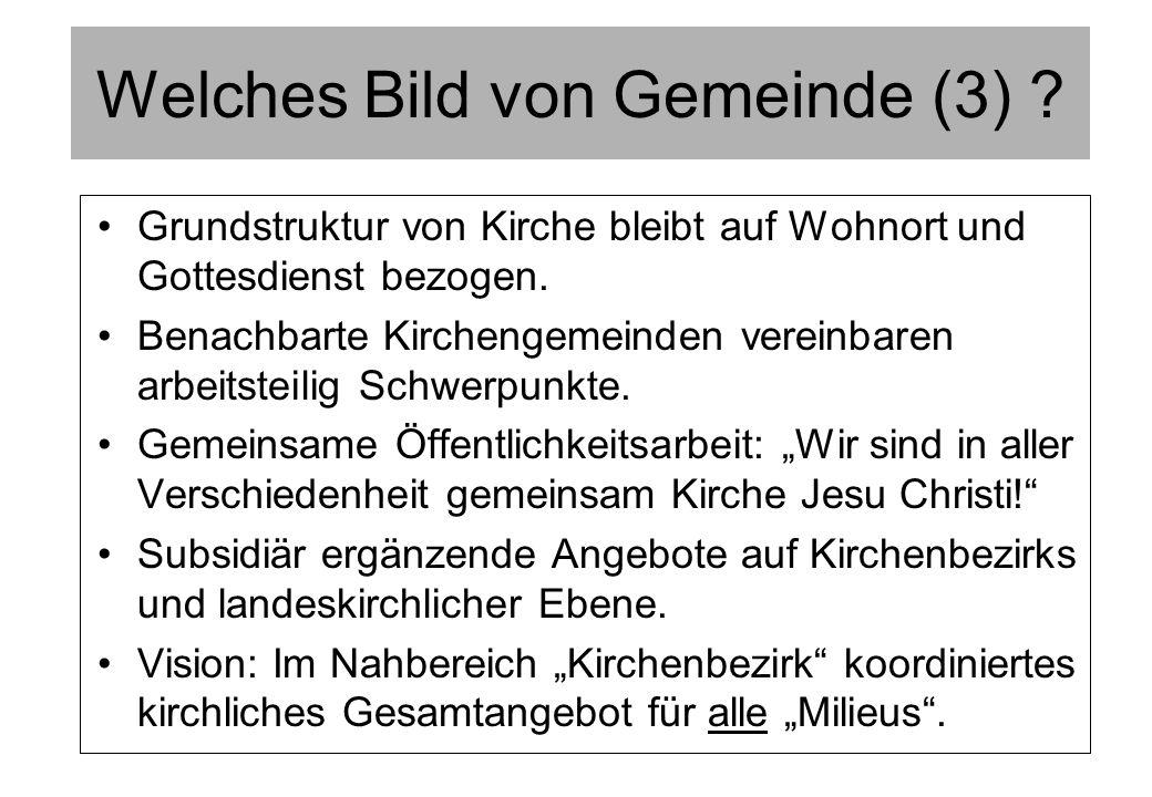 Neuordnung der Visitation Der Prozeß Notw.Wandel im Kontext anderer landeskirchl.
