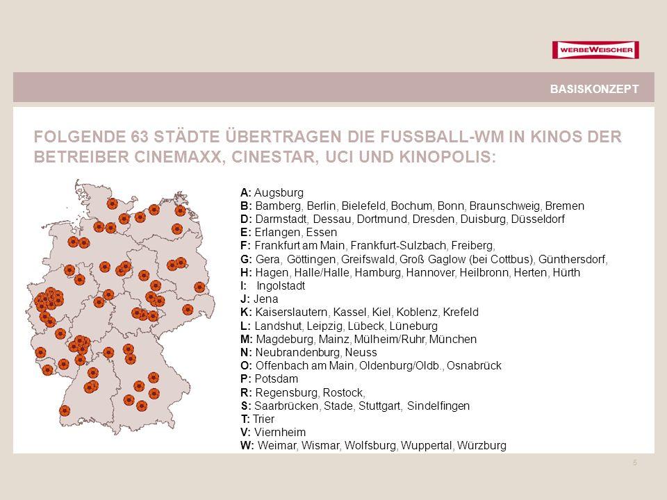 5 A: Augsburg B: Bamberg, Berlin, Bielefeld, Bochum, Bonn, Braunschweig, Bremen D: Darmstadt, Dessau, Dortmund, Dresden, Duisburg, Düsseldorf E: Erlan