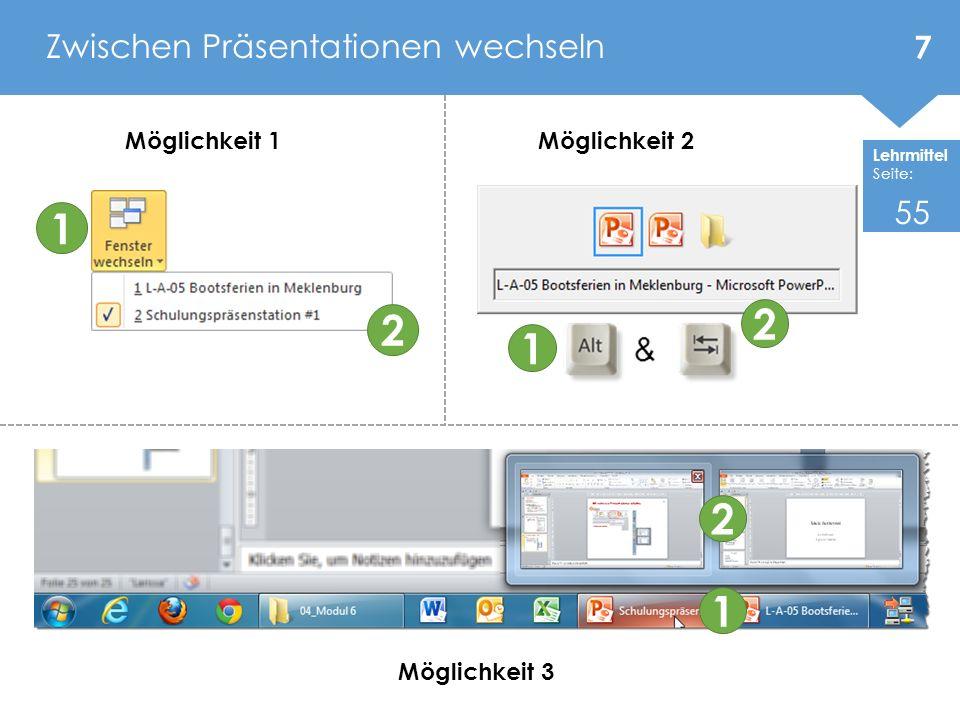 Lehrmittel Seite: Priorität beim Formatieren Handformatierung Masterformatierung Design Priorität beim Arbeiten Design Masterformatierung Handformatierung Aufzählung und Nummerierung anpassen 18 41 - 42
