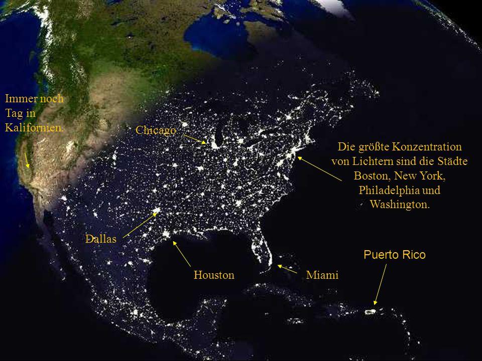 Einbruch der Dunkelheit in den USA
