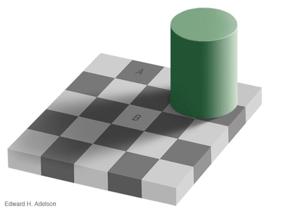 Sind die Farben der Felder A und B gleich!?