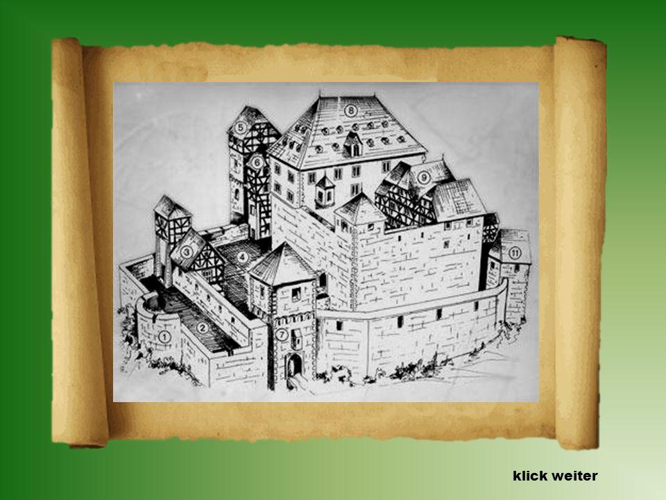 Die Geschichte der Burg Rodenstein. Die Burganlage wurde mehrfach umgebaut. Im 14. Jahrhundert wurde sie durch einen zweiten größeren Palas, den