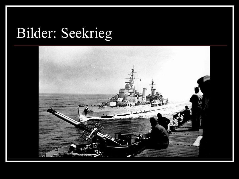 Bilder: Seekrieg