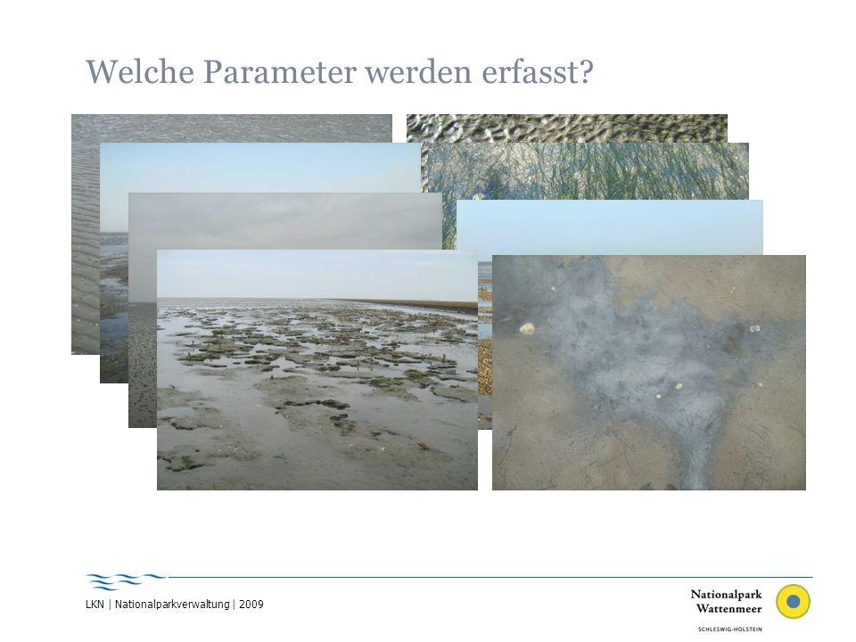 LKN | Nationalparkverwaltung | 2009 Welche Parameter werden erfasst?