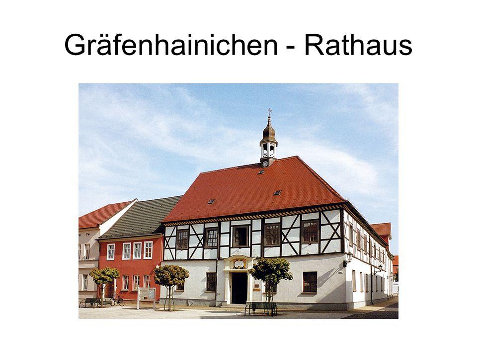 Gräfenhainichen - Rathaus