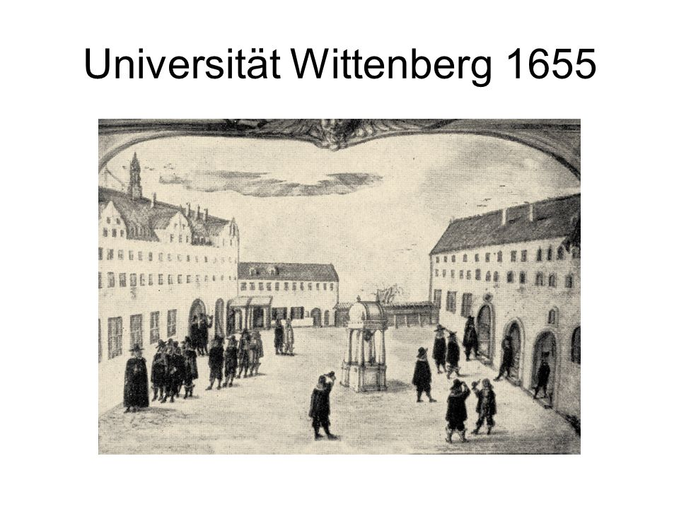 Universität Wittenberg 1655