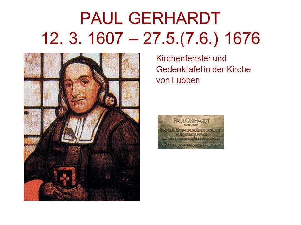 PAUL GERHARDT 12.3.