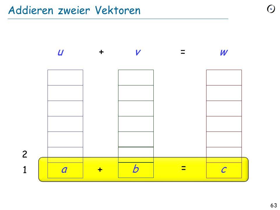 62 Generizität + Vererbung: eingeschränkte Generizität class VECTOR [G ] feature plus alias