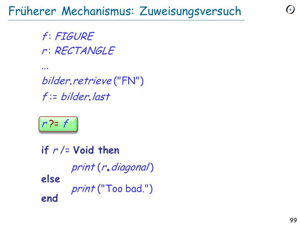 98 Object-Test Local Einen Typ erzwingen: Der Objekt-Test if attached {RECTANGLE} bilder. retrieved (